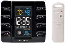 AcuRite 13020 Intelli-Time Projection Alarm Clock with Temperature and Usb Charg