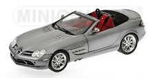 1:18 Minichamps MERCEDES SLR MCLAREN ROADSTER 2007 GREY METALLIC