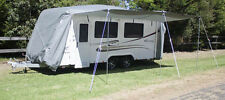 Deluxe Caravan Cover Waterproof with Awning 20-22ft
