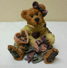 "MIB Boyds Bears 3"" ""BAILY...HEARTS DESIRE"" Resin Figurine #02272 LIMITED EDITION"