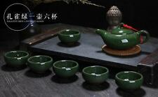 China Traditinal Art Handicrafts Color Porcelain Pot Teapot KongFu Tea Ceremony