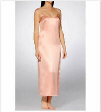 La Perla Studio Seta Collection M Long Negligee Nightgown Pink 100% Silk New