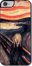 "Cover per iPhone 6 plus / 6S plus con stampa ""L'urlo"" di Munch"