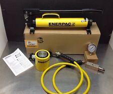 ENERPAC SCL302H Pump/Low Height Cylinder Set, 30 Ton Cap RCS302 P39 Pump NICE!