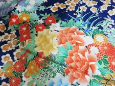 Vintage Japanese Kimono Women CHU FURISODE Robe Classic pattern F/S K1601 0038