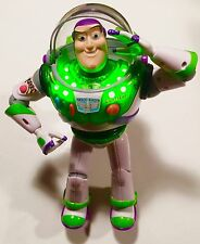 "Disney Pixar Toy Story Clear Green Light up Buzz Lightyear 12"" Talking THINKWAY"