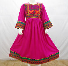 Kuchi afghan banjara tribal boho hippie style brand new robe ethnique ND-117