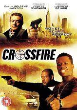 Crossfire DVD Robert De Niro Curtis 50 Cent Jackso New Cross Fire Original UK R2