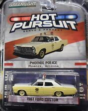 `67 Ford Custom POLICE Phoenix Arizona 1967**Greenlight 1:64 OVP