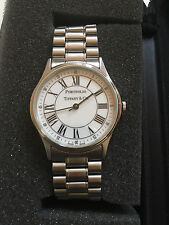 Tiffany & Co. Portfolio Swiss Made Sterling Silver Unisex Watch
