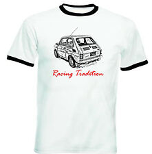 MALUCH POLISH FIAT 126 P RACING TRADITION 1P -COTTON TSHIRT - ALL SIZES IN STOCK
