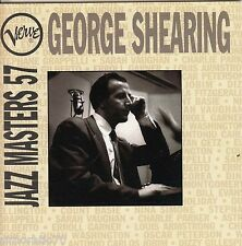 GEORGE SHEARING Jazz Masters 57 CD - New - Verve