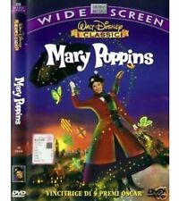 DVD DISNEY Mary Poppins fuori catalogo Warner rarissimo