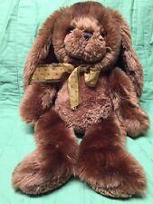 "Bunny Rabbit Brown Plush Stuffed Animal 19"" Tall"