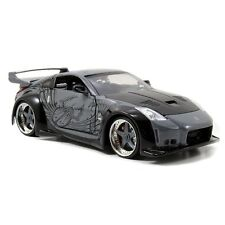 D.K.'s Nissan 350Z Black Fast and Furious 1/24 Furious 7 Diecast CAR model