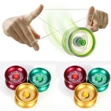 Design Professional YoYo Ball Bearing String Trick Alloy Cool Kids Aluminum Toy
