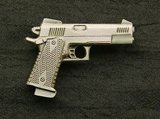 Personal Defense Competition .45 Handgun Pewter Pin