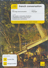 Teach Yourself French Conversation by Jean-Claude Arragon (CD-Audio, 2005)