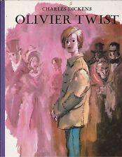 Olivier Twist - Charles Dickens .  Hachette ; 1982 ; excellent état . cartonné