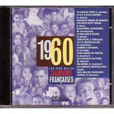 CD Les plus belles chansons francaises 1960 SAPHO ADAMO LENORMAN GUICHARD AUFRAY