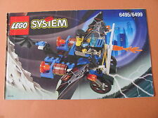 LEGO 6495 @@ NOTICE / INSTRUCTIONS BOOKLET / BAUANLEITUNG