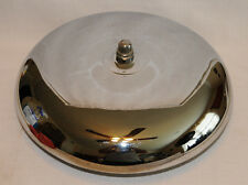 "Vintage 14"" Chrome Polished Ring Side Boxing Fire House Dinner Mounted Bell"