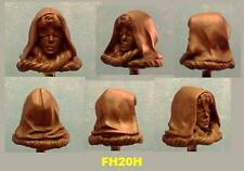 custom Star Wars MIRALUKA FEMALE BLIND JEDI Resin Cast Head Rebels Force Awakens