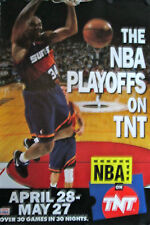 "NBA ON TNT ORIGINAL POSTER 1994 36"" X 24"" ROLLED MINT"
