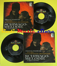 LP 45 7'' MAURICE JARRE Lara's theme Dr. schiwago 1966 germany MGM no cd mc dvd