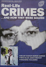 Real-Life Crimes Issue 64 - Charlie Starkweather, Caril Fugate, Janice Weston