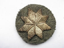 italian military proficiency  star on khaki   cloth  patch
