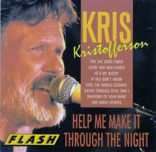 KRIS KRISTOFFERSON : HELP ME MAKE IT THROUGH THE NIGHT / CD (PILZ P1 F 2182-2)