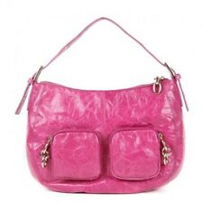 Ted Baker Large Pink Fushia Real Leather Fitch Chunky Chain Handbag NWT RRP £160