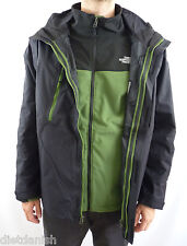 The North Face Men's Condor Triclimate 3-In-1 Winter Jacket Black Green Size XL