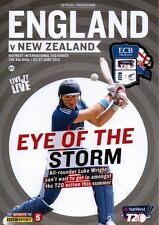 * 2013 - ENGLAND v NEW ZEALAND CRICKET T20 SERIES 25th - 27th JUNE 2013 *