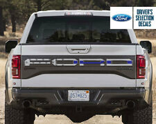 Ford F150 Raptor 2017 back tailgate lettering USA America flag decal sticker