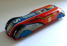 VINTAGE METTOY JBP 501 STREAMLINE SPORTS RACING CAR RARE TOY 1940's TIN