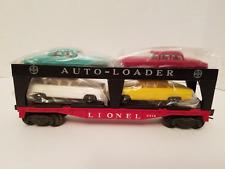 Lionel Postwar 6414 Evans Auto Loader w/4 Repro Cars