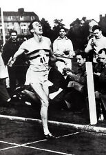 Roger Bannister Poster, Running, Breaking the 4 Minute Mile