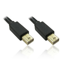 2m Mini Display Port Male To Mini Display Port Male Cable Adapter