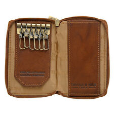 Tumble and Hide Zip Around Key Case - Style: 520 - New with Tags