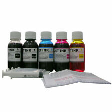 Nanoink@ 500ml refill ink for HP Canon Brother Lexmark Epson Dell+syringes