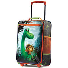 "American Tourister 18"" Upright Kids Good Dinosaur Disney Softside Suitcase"