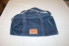VTG-1980s Levi's Jeans/Denim Duffel Gym Overnight Weekender Shoulder Bag Purse