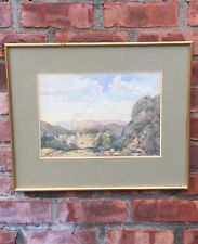 English Artist William Frederick Witherington Watercolor. Alice Dodge Gallery