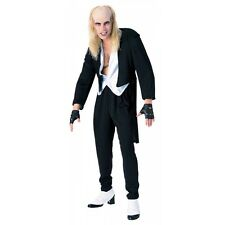 Riff Raff Costume Adult Mens The Rocky Horror Picture Show Halloween Fancy Dress