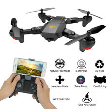 2.4G 4-Channel 6Axis Altitude Hold HD Camera RC Quadcopter Drone Selfie Foldable