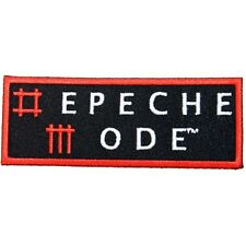 Depeche Mode Band Name Logo Electronic Music Embroidered Iron On Applique Patch