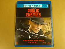 BLU-RAY / PUBLIC ENEMIES ( JOHNNY DEPP, CHRISTIAN BALE... )
