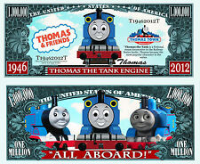 THOMAS et ses AMIS - BILLET MILLION DOLLAR US! LE PETIT TRAIN série Dessin Animé